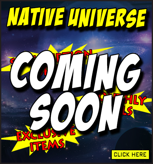 native universe coming soon banner